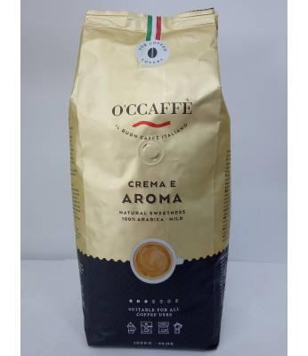 Кофе O`CCAFFE Crema E Aroma 100% Arabica в зернах 1 кг