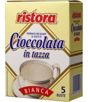 Шоколад белый Ristora Bar порционный 25г*5шт