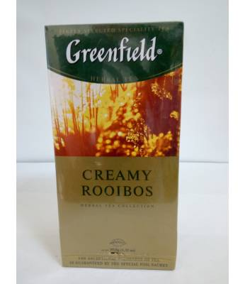 Чай Greenfield Creamy Rooibos 25 пак.
