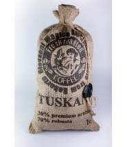 Кофе Tuskani 30% арабика 70% робуста в зернах 1 кг