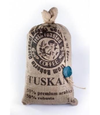 Кофе Tuskani 50% арабика 50% робуста в зернах 1 кг