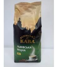 Кофе Віденська Кава Львівська міцна в зернах 1 кг